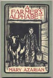 cover of A Farmers Alphabet by Mary Azarian