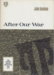 cover of After Our War by John Balaban