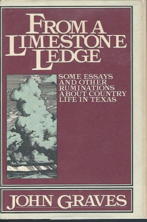 cover of From A Limestone Ledge by John Graves