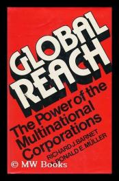 cover of Global Reach by Richard Barnet and Ronald Muller