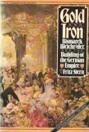 cover of Gold and Iron by Fritz Stern