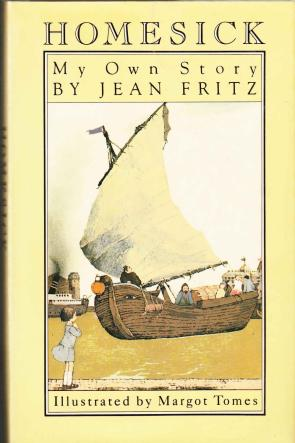 cover of Homesick My Own Story by Jean Fritz