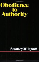 cover of Obedience to Authority by Stanley Milgram