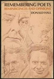 cover of Remembering Poets by Donald Hall