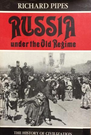 cover of Russia Under the Old Regime by Richard Pipes