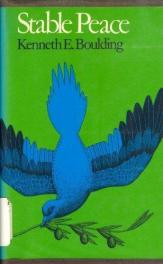cover of Stable Peace by Kenneth E Boulding
