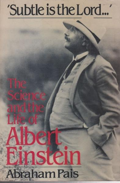 cover of Sublte is the Lord by Abraham Pais
