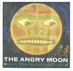 cover of The Angry Moon by Willliam Sleator and Blair Lent
