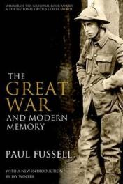 cover of The Great War and Modern Memory by Paul Fussell