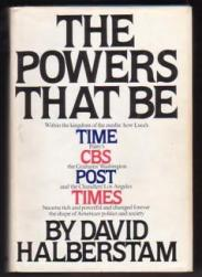 cover of The Powers That Be by David Halberstam
