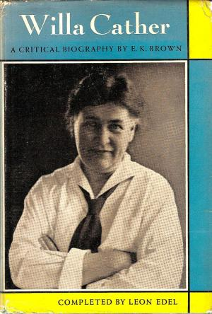 cover of Willa Cather by E K Brown