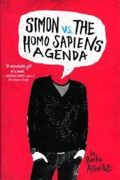 Simon vs. the Homo Sapiens Agenda by Becky Albertalli book cover, 2015