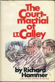 cover of The Court-Martial of Lt. Calley by Richard Hammer