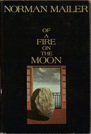 Of a Fire on the Moon by Norman Mailer, book cover