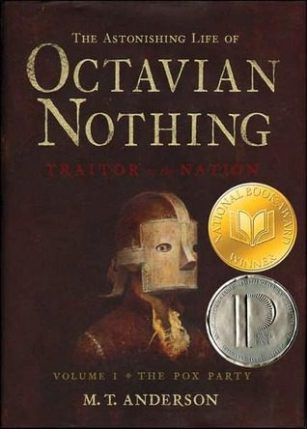 Octavian Nothing by M.T. Anderson book cover, 2006