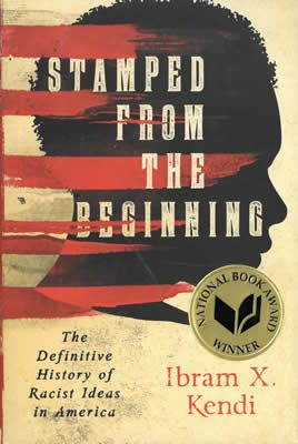 Ibram X. Kendi, Stamped From the Beginning, book cover, 2016