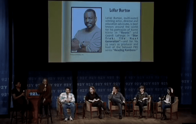 2015 National Book Awards Teen Press Conference (1 of 9)