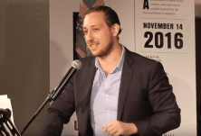 Greg Jackson reads from Prodigals, 2016 5 Under 35 Celebration