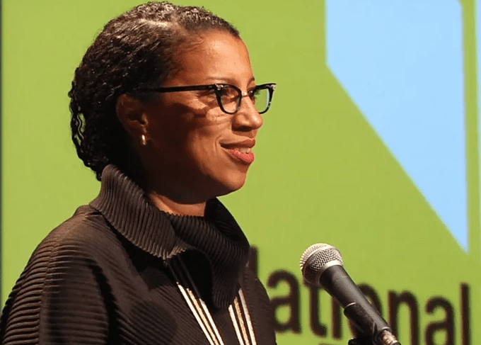 Robin Coste Lewis reads at the 2015 National Book Award Finalists Reading