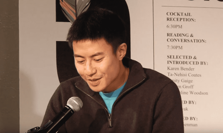 S. Li reads from Transoceanic Lights, 2016 5 Under 35 Celebration