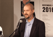 Thomas Pierce reads from Hall of Small Mammals, 5 Under 35 2016