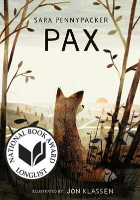 Pax by Sara Pennypacker and Jon Klassen book cover