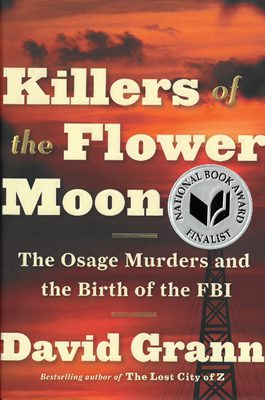 Killers of the Flower Moon by David Grann book cover