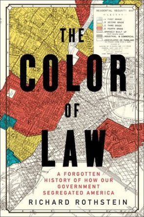 The Color of Law, by Richard Rothstein book cover