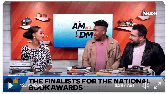 AM to DM - 2018 National Book Awards Finalists Announced