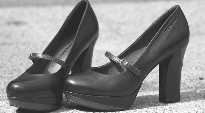 men forced to wear heels
