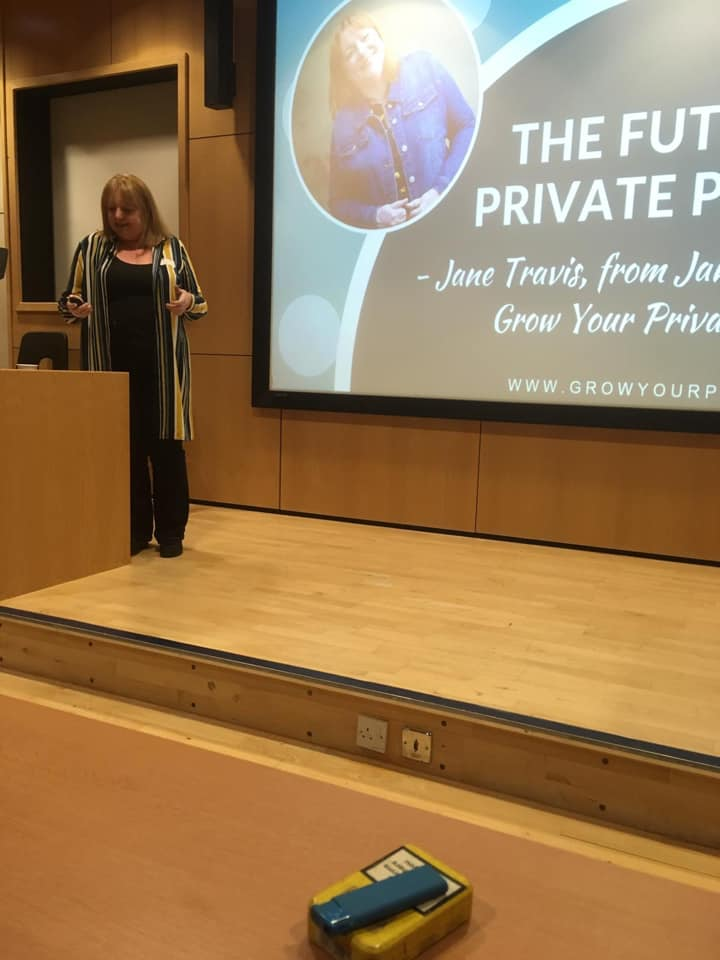 Jane Travis at National Counsellors' Day 2019