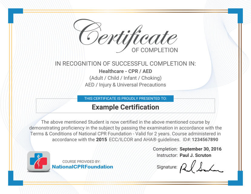 CPR Certification Online CPR Training Class 1295 First