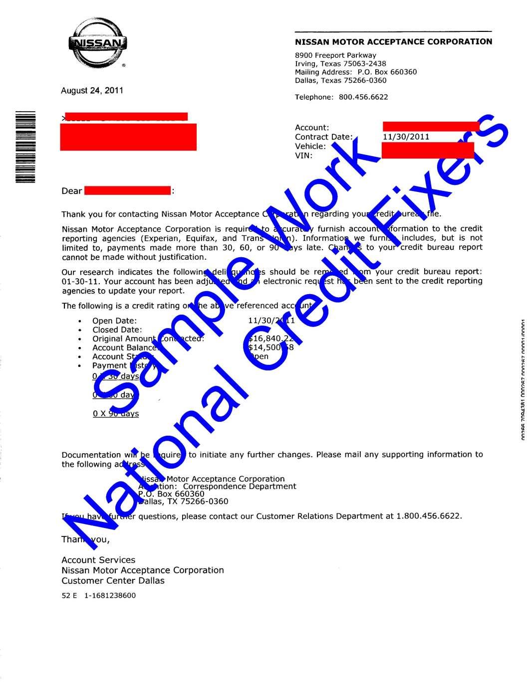 Nissan Motor Acceptance Lien Release Impremedia Net