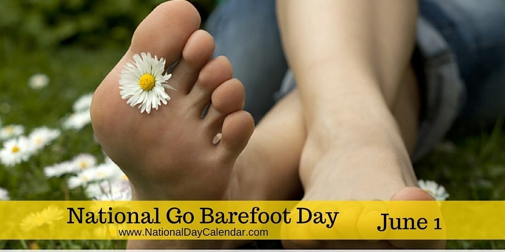 National Go Barefoot Day June 1