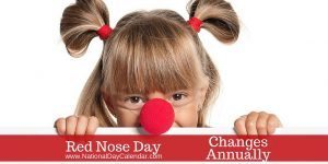 Red Nose Day - Changes Annually