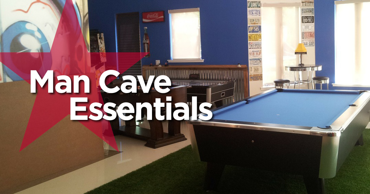 10 Things You Need in Your Man Cave  National Design Mart