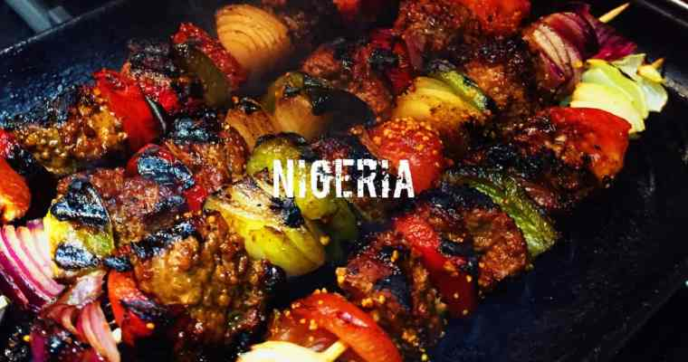 How do you make Nigerian lamb Suya? | Rago Suya | What is the national dish of Nigeria?
