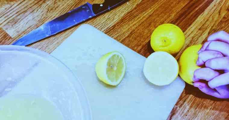 How do you make homemade lemonade? | National Dish of England