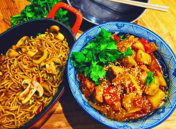 Sweet and Sour Chicken and Mango National Dish Recipe