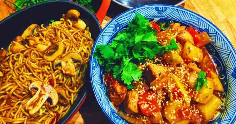 Sweet and Sour Chilli Mango Chicken | National Dish Recipe from South East Asia…maybe