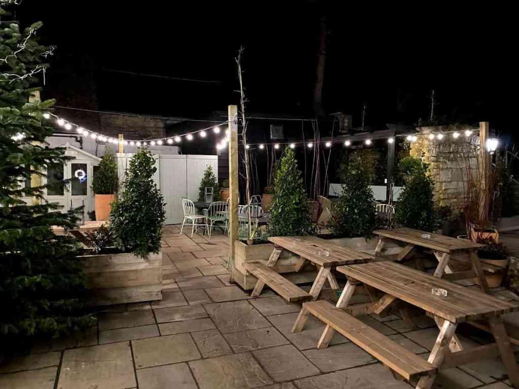 The garden design by Dee Campling in Prestbury