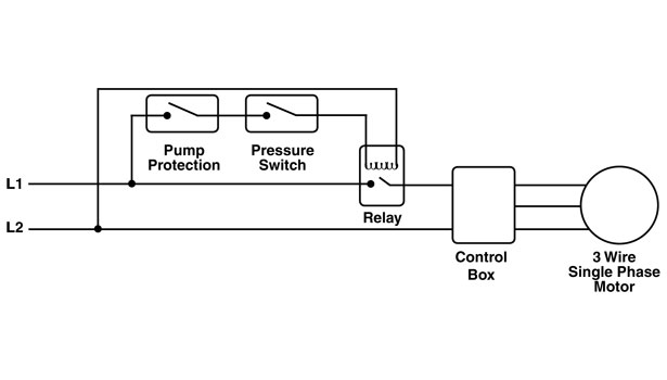 stage two pressure switch wiring diagram
