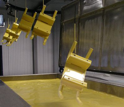 paint dipping machines provide a more even layer of paint