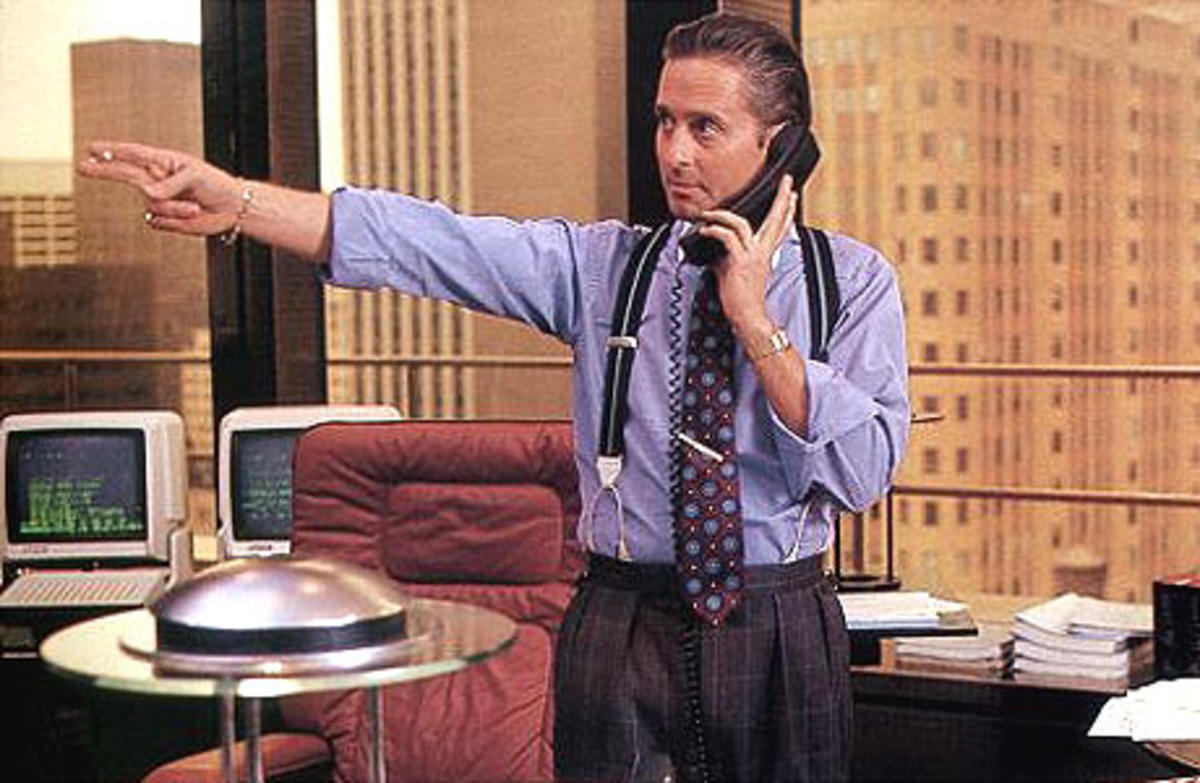 the fact that people are greedy, like gordon gekko in wall street, completely undermines the theory of comparative advantage