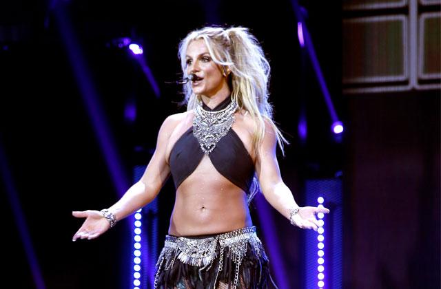 Britney Spears Bizarre Boob Job National Enquirer