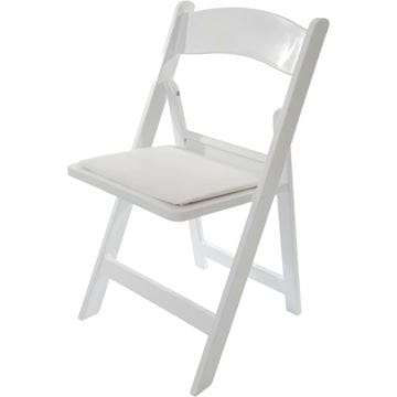 folding chair rental vancouver hanging lounger national event supply nes reliable white resin chairs