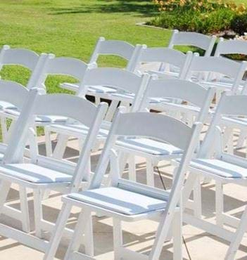folding chair rental vancouver covers wedding kent national event supply chairs