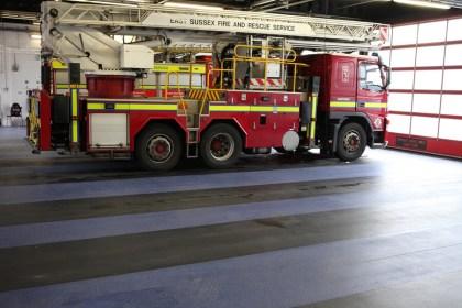 The National Flooring Co - resin flooring installation fire engine