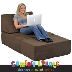 Foam Chair That Turns Into A Bed Kelsyus Backpack With Canopy Studio Sleeper Memory Comfort Lounge 13959101 Ofs319