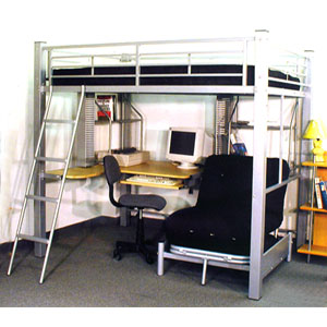Full Size Studio Loft Bed 4037 Ml